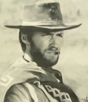 Clint Eastwood of course by rosemaryjayne