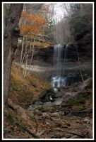 Tinkers Falls in the Fall 4 by ambermac148