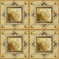 Gold and Beige Marble Floor Tiles (tileable) by LilipilySpirit