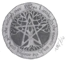 Earth Pentacle by ARTISTROGUE