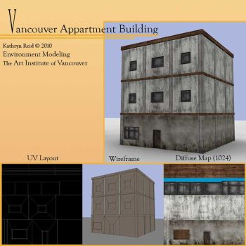 downtown building1 finished by CharryCola