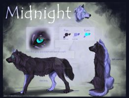 Midnight referenceseet by Yellow-eyes
