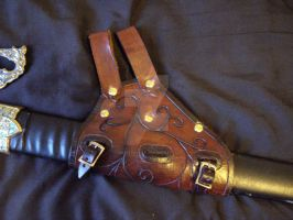 Sword Holster by tungstenwolf