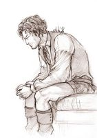 Outlander - Jamie Fraser sketch by Lehanan