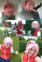 all my cosplay of sakura by Bleach-Fairy