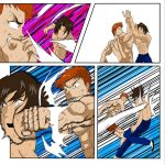 The Grappler Baki vs Mightiest Disciple Kenichi by THEPRODIGYP5ART