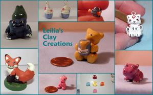Clay Figure Collage by LeiliaClay