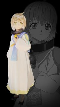 Tales of Berseria - Laphicet default rigged by GlemyToto