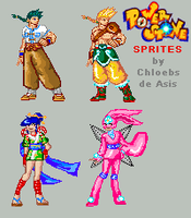 Power Stone Sprites by chloebs