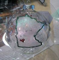 MN Ornament by MyThoughtsAreDeep