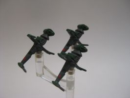 Star Wars Armada Custom - B-Wing Green Squadron by sadowsk1