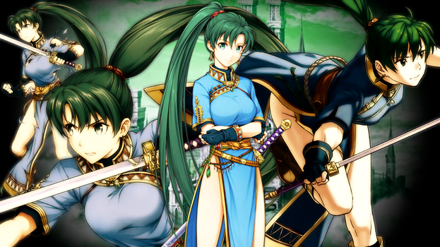 Fire Emblem Heroes - Lyn Wallpaper by AuroraMaster