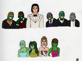 TMNT_Wedding Belles by DNLnamek01
