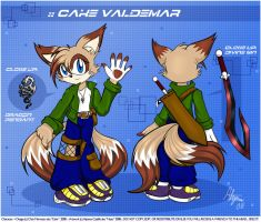 :: Cake's New Look by Neon-Nazo