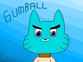 Gumball Watterson (My Style) by MigsGarcia5127
