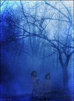 Blue Forest. Haunting. by Milanaserk