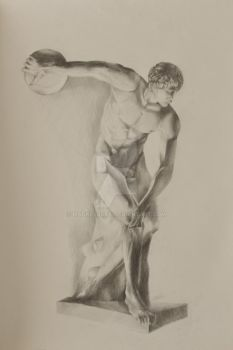 Discobolus by MadnessCat