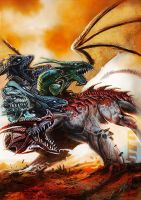 Tiamat by UTTOTOR