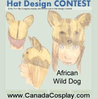 African Wild Dog Hat Design by sniffybibble029