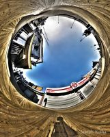 Boadwalk Reverse Planet Pano by AbstractRealist