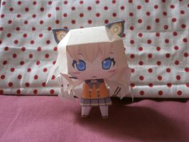 SeeU papercraft by sabrynaM