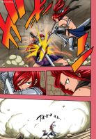 Fairy Tail manga 180 colored by chuefue337
