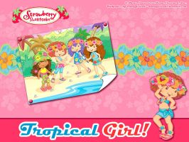 SSC - Tropical Girl by bunnyfriend
