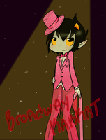 More Broadway Karkat by xR3N4x
