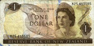 banknotes - NEW ZEALAND no.1 by gapystock