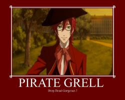 Pirate Grell by 199592
