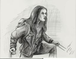 Dafne Keen by xpector