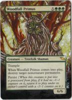Magic Card Alteration: Woodfall Primus by Ondal-the-Fool