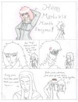 Happy Marluxia Month by Siezure-in-a-Bag