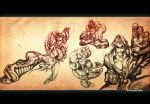 Street Fighter sketches 01 by MarioPons