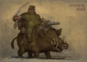 Boar rider by Hetman80