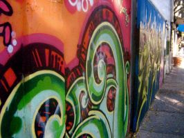 Wall of Many Colors by anna-beth