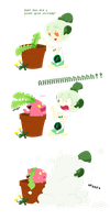 Not So Wild Hoppip Appears by tomato-rabbit
