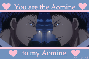 Kuroko no Valentine: Aomine to my Aomine by FrozenClaws