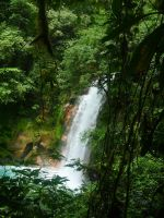 Rio Celeste's waterfalls by SuAlmont