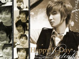 Happy B-Day Leeteuk by ForeverK-PoPFan