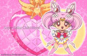 chibi Super Sailor Chibi Moon by xCutieAzNx