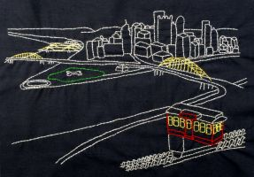 Pittsburgh in Stitches by forteallegretto