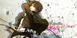 Rivaille - Splatter by rrrb50