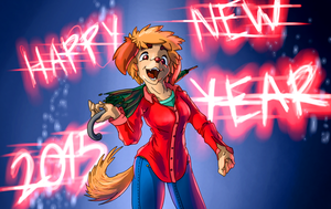 Happy New Year 2015 by crazyrems