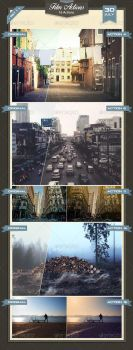 Film Effects Photoshop Actions Set 1 by baturaN