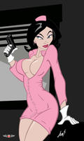 Dr Girlfriend - Film Noir by Phillip-the-2