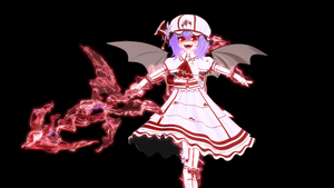 Remilia and Gugnir by Primantis