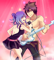 Rockstar Gruvia by Inspired-Destiny