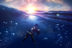 Underwater Version Paysage 1 by creasitedesign