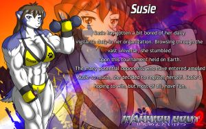 Warrior Bout 2 Profile: Susie by CylnX
